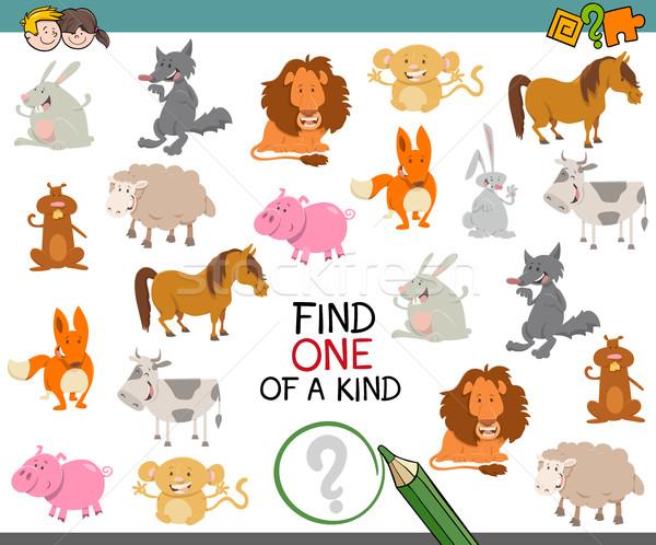 one of a kind with animals Stock photo © izakowski
