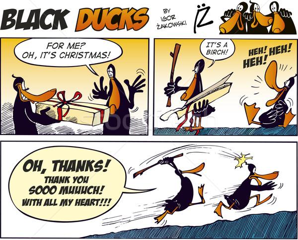 Black Ducks Comics episode 27 Stock photo © izakowski