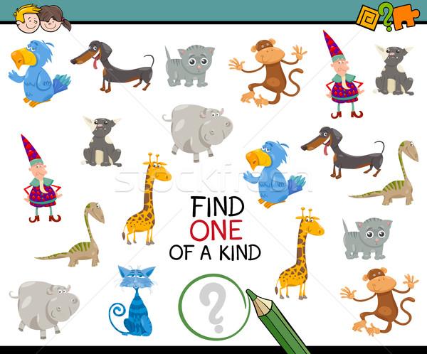 find one of a kind game Stock photo © izakowski