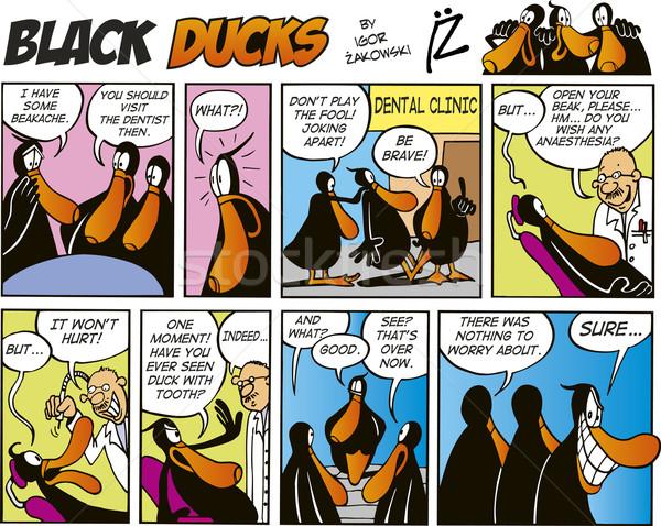 Black Ducks Comics episode 3 Stock photo © izakowski