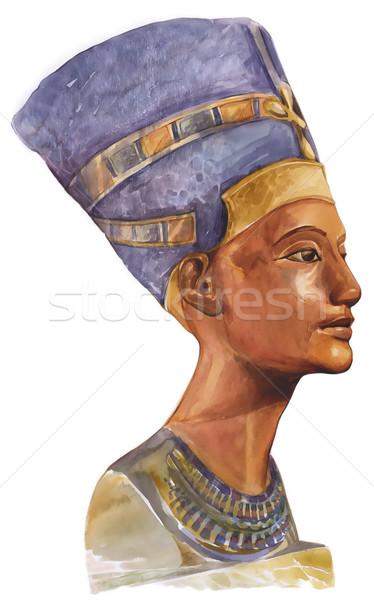 Queen Nefertiti Stock photo © izakowski
