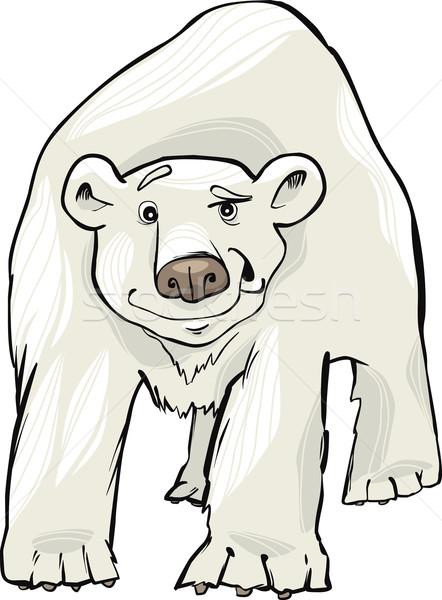 polar bear Stock photo © izakowski