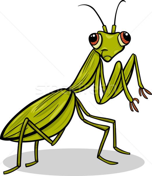 Insecte cartoon illustration drôle personnage Photo stock © izakowski