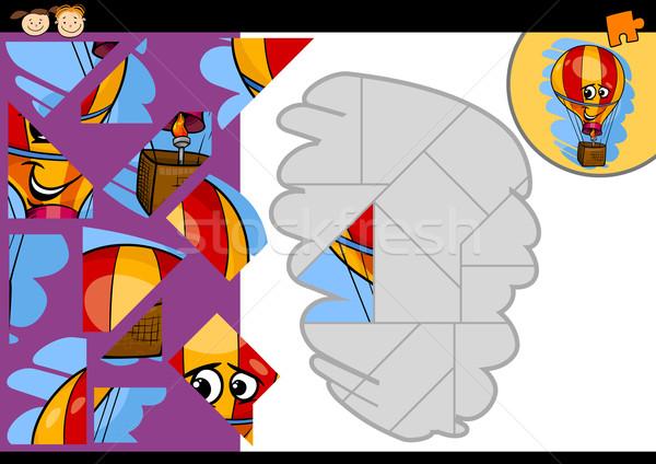Stok fotoğraf: Karikatür · balon · oyun · örnek · eğitim
