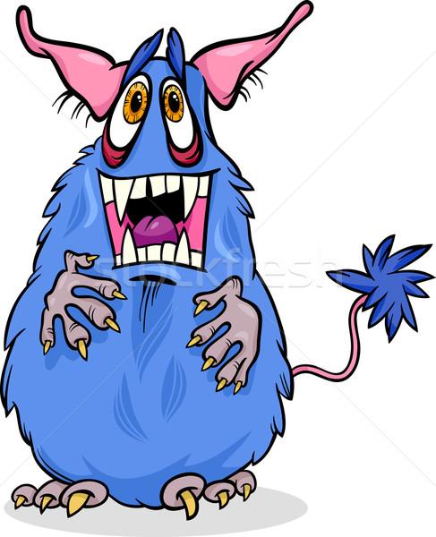 cartoon funny monster illustration Stock photo © izakowski