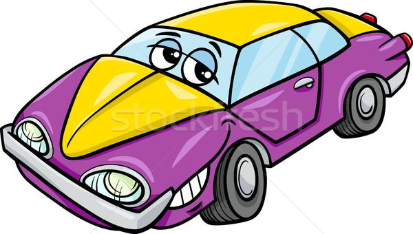 car character cartoon illustration Stock photo © izakowski