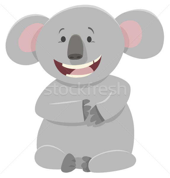 koala bear animal character Stock photo © izakowski