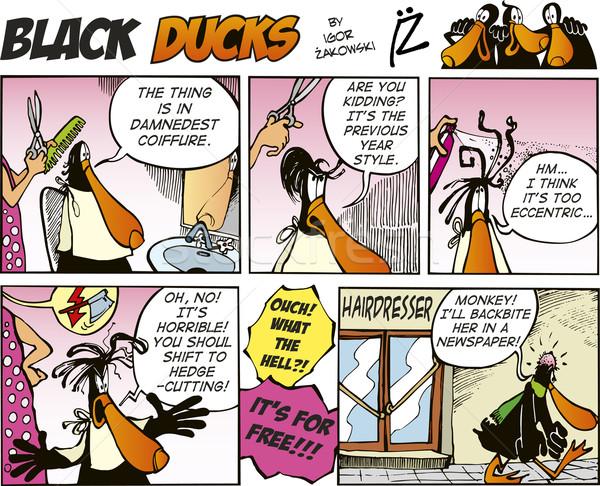 Black Ducks Comics episode 9 Stock photo © izakowski