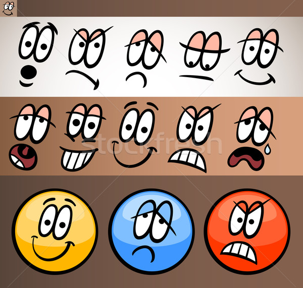 Cartoon illustration drôle Photo stock © izakowski