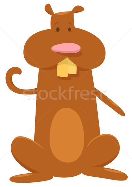 hamster cartoon character Stock photo © izakowski