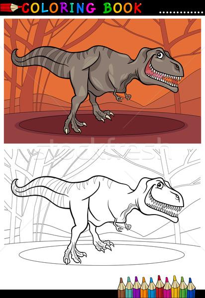 Stock fotó: Dinoszaurusz · rajz · illusztráció · hüllő · fajok · világ