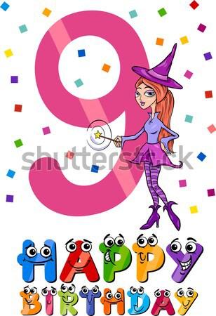cartoon fantasy woman characters group Stock photo © izakowski