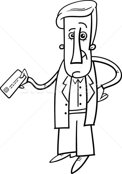 man with credit card Stock photo © izakowski