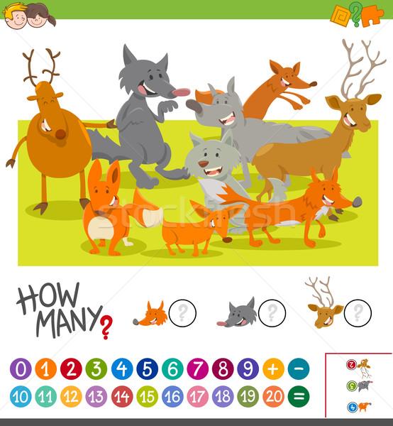 how many animals activity Stock photo © izakowski