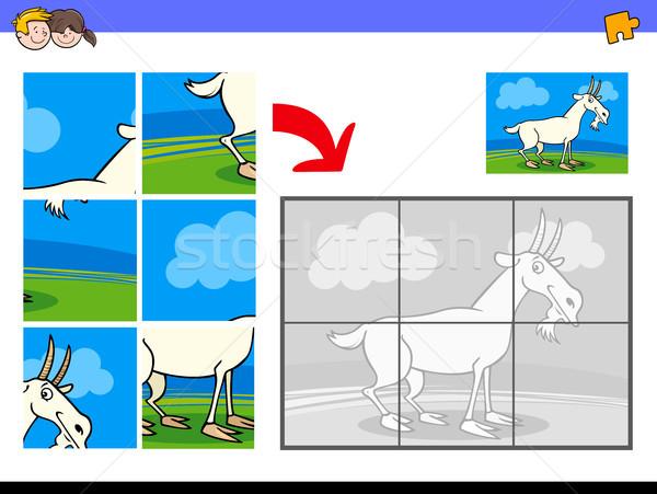 Capră animal desen animat ilustrare Imagine de stoc © izakowski