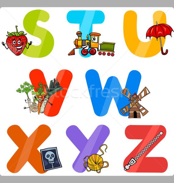 教育 漫画 アルファベット 文字 子供 実例 ストックフォト © izakowski