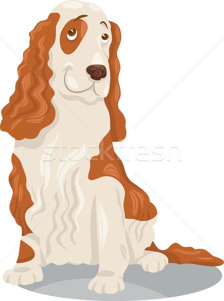 犬 漫画 実例 面白い 純血種の犬 動物 ストックフォト © izakowski