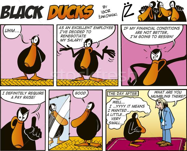 Black Ducks Comics episode 56 Stock photo © izakowski