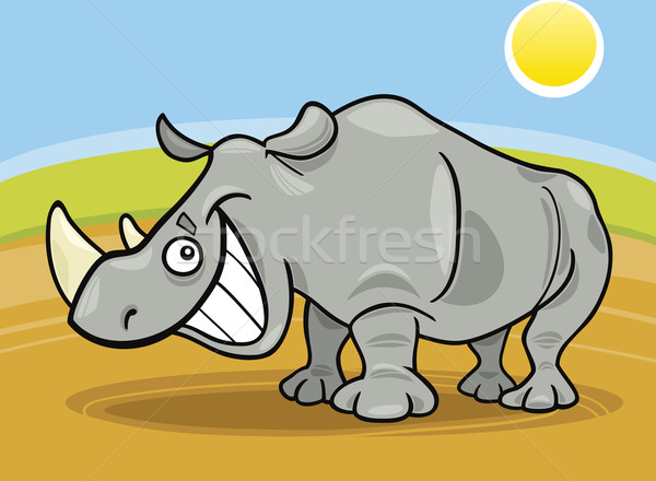 rhinoceros Stock photo © izakowski