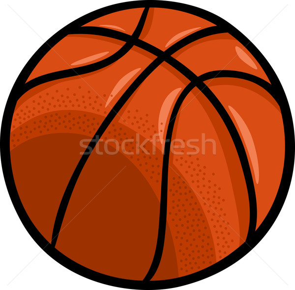 Basket balle cartoon clipart illustration design Photo stock © izakowski