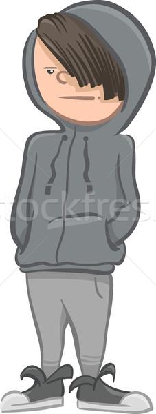 boy character cartoon illustrattion Stock photo © izakowski