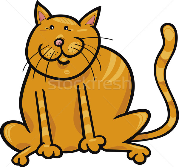 Yellow cat Stock photo © izakowski