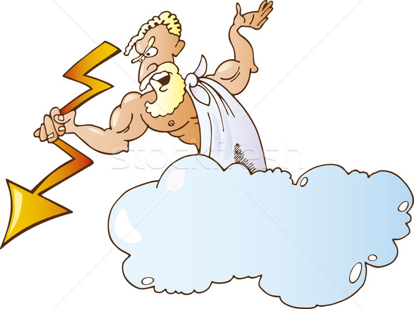 Greek God Zeus Stock photo © izakowski