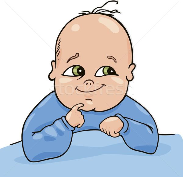 Cute baby Stock photo © izakowski