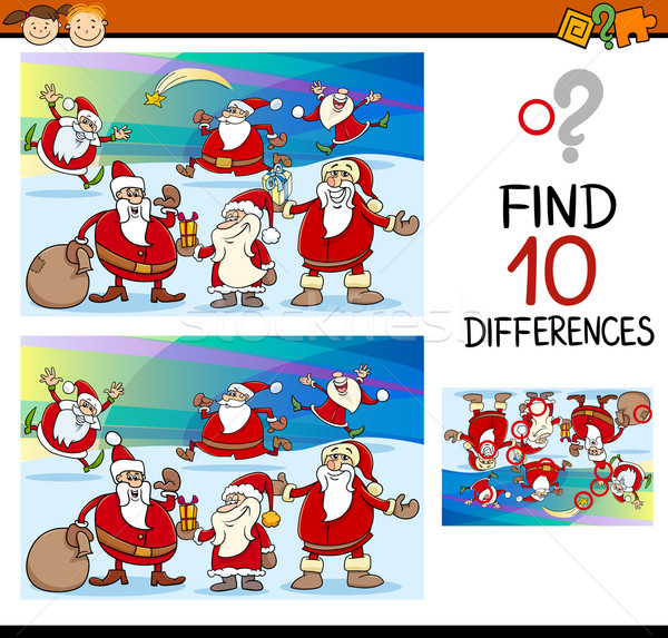 educational differences task Stock photo © izakowski
