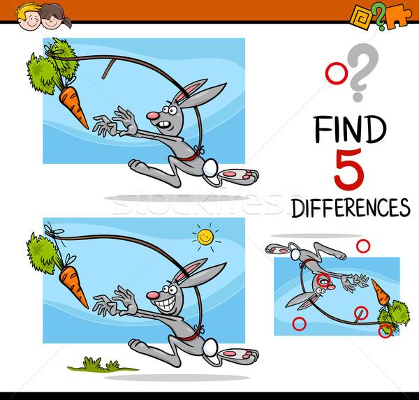 differences preschool activity Stock photo © izakowski