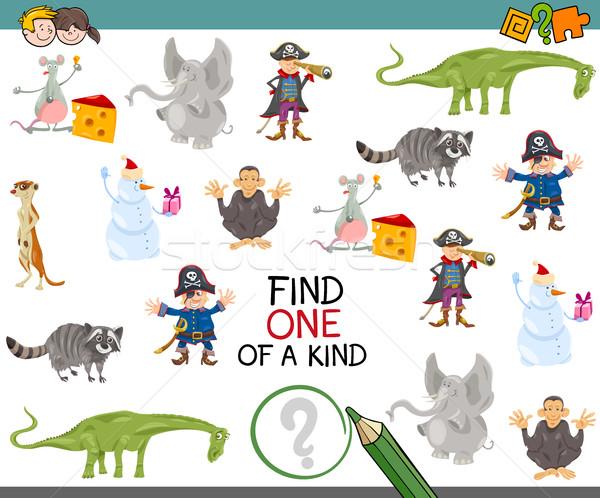 find one of a kind activity game Stock photo © izakowski