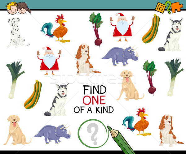 finding one of a kind game Stock photo © izakowski
