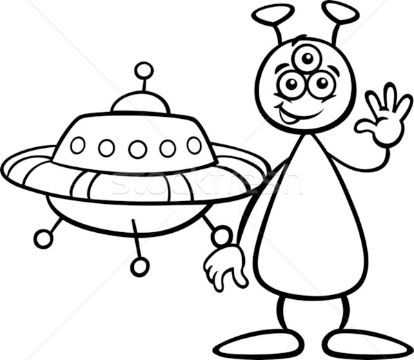 Ufo Illustration