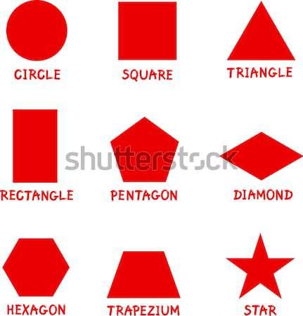 基本 幾何学的な 実例 ストックフォト © izakowski