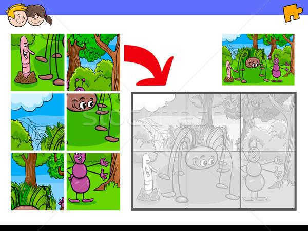 Bicho desenho animado ilustração Foto stock © izakowski