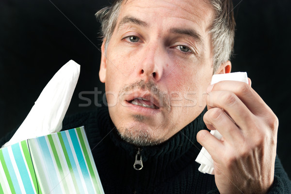 Man Exhausted Stock photo © jackethead