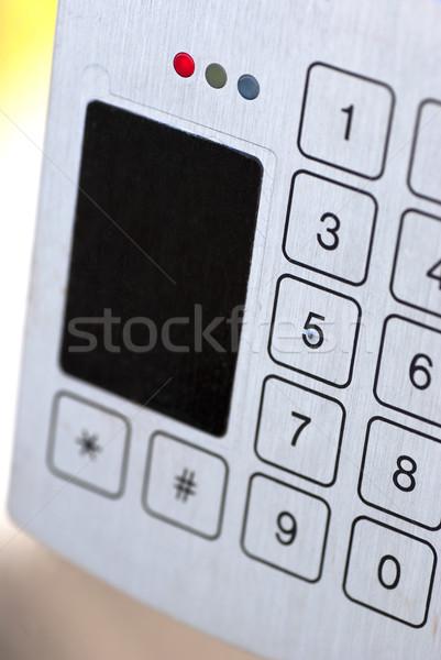 Security Entry Pad Stock photo © jackethead