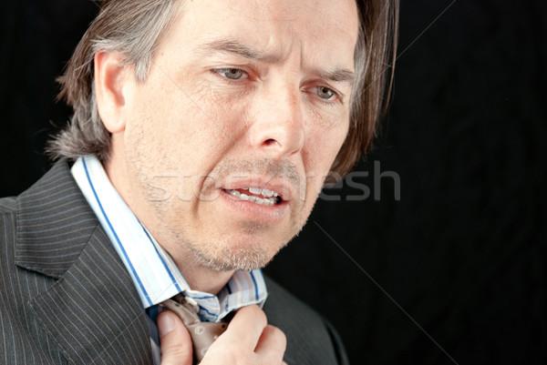 сердечный приступ бизнесмен рук медицинской здоровья Сток-фото © jackethead