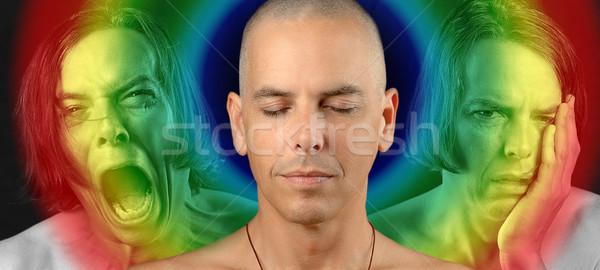 Conflicted Spirit, Rainbow Stock photo © jackethead