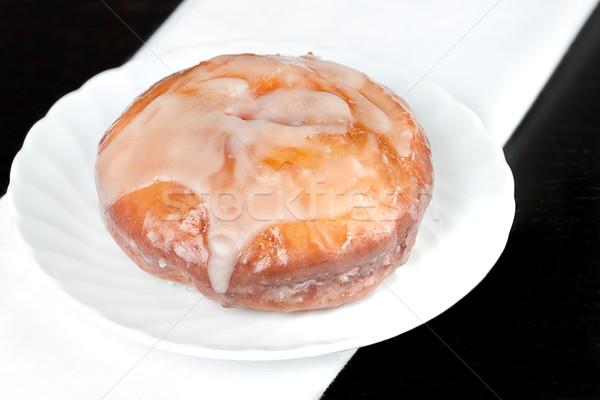 ドーナツ クローズアップ 食品 ケーキ デザート 甘い ストックフォト © jackethead