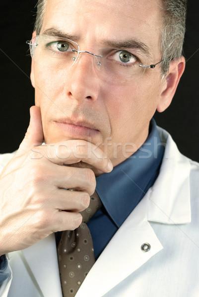 Arts medische geneeskunde drugs professionele Stockfoto © jackethead