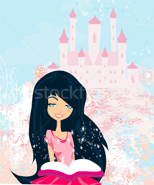 Dreaming about fairytale  Stock photo © JackyBrown