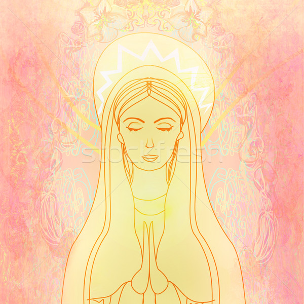 Blessed Virgin Mary  Stock photo © JackyBrown