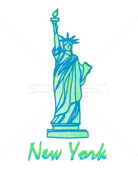 Statue Of Liberty - Symbol of New York City  Stock photo © JackyBrown