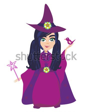 Set of accessories for the little witch Stock photo © JackyBrown