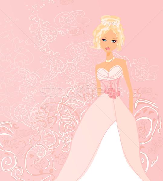 Belo Noiva Cart O Menina Mulheres Cora O