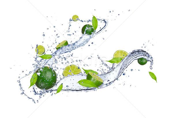 Fruits frais fraîches isolé blanche eau Photo stock © Jag_cz
