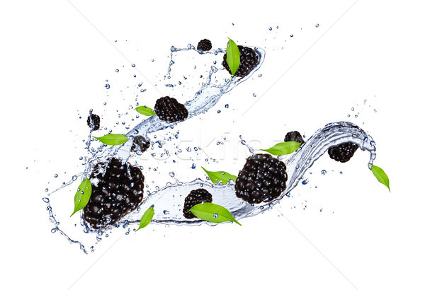 Fruits frais fraîches isolé blanche Photo stock © Jag_cz