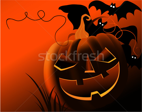 Хэллоуин природы свет темно праздник Сток-фото © jagoda