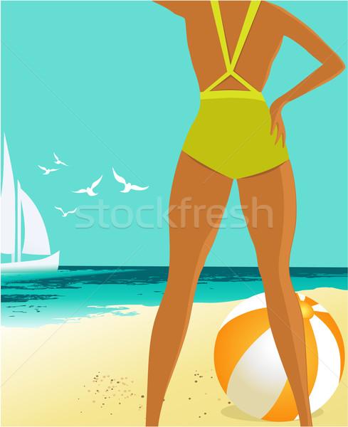 Summer background Stock photo © jagoda